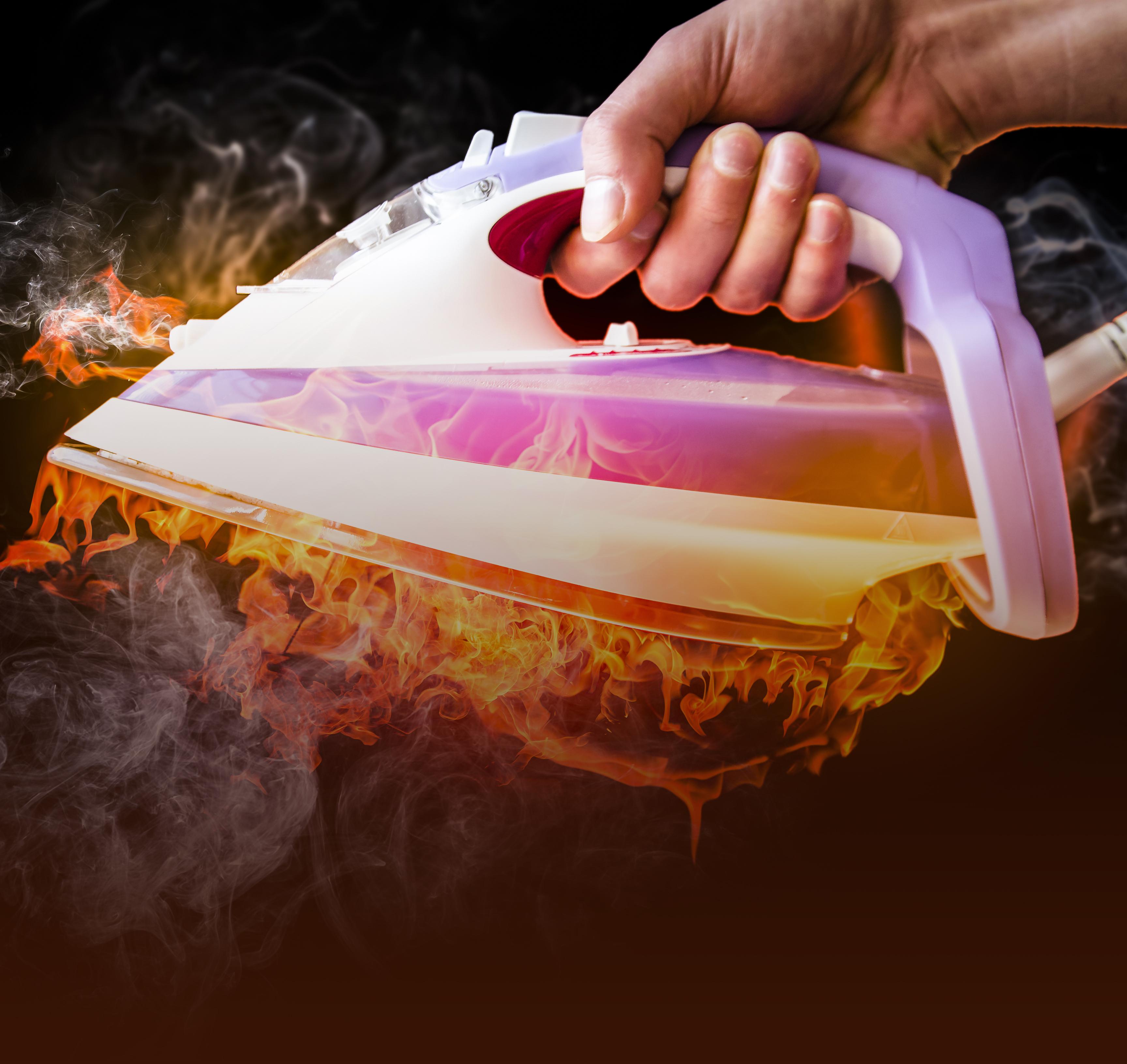 Если сгорела бытовая техника в доме комплект женского белья s